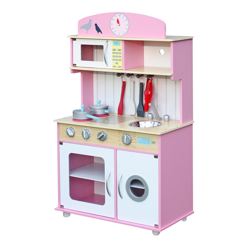 Kids Wooden Toy Kitchen
