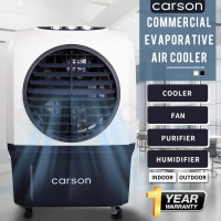 CARSON 4in1 Evaporative Air Cooler Portable Commercial Fan Industrial Workshop Water