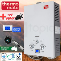 Portable Gas Hot Water Heater with Pump-THM-12