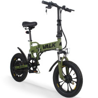 Valk Kharki 36V Folding Electric Bike - DualShock