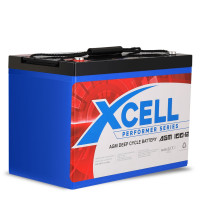 X-Cell 100Ah AGM Deep Cycle Battery 12v - Performer Series