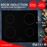 EuroChef  60cm 4 Zone Electric Induction Cooktop