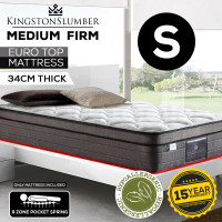 34cm Thick Single Size Bedding Mattress