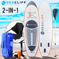 White & Orange Stand Up Paddle Boards - CFX 310