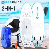 White & Blue Stand Up Paddle Board - CFX 300