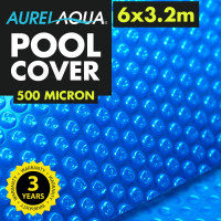 Blue6 x 3.2m Roller Swimming Pool Cover