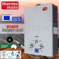 THERMOMATE Gas Hot Water Heater- Portable Shower Camping LPG Outdoor Instant 4WD