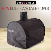EuroGrille Deluxe Pizza Oven Cover - Elite Fitted Weather Protector
