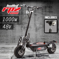 Black & Red Off Road Turbo Electric Scooter -RPZ1600