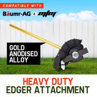 Baumr-AG Grass Edger Attachment Pole Garden Trimmer Brushcutter Lawn Edge