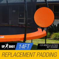 Orange 14ft Replacement Trampoline Pad