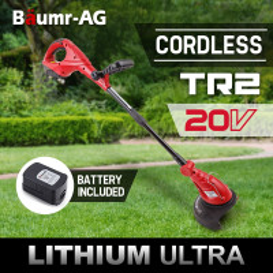 Baumr-AG  20V Electric Cordless Whipper Snipper Line Trimmer Brush Cutter