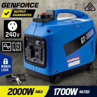 2,000W Petrol Powered Inverter Generator - GT3000
