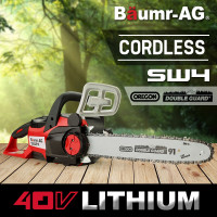 "Baumr-AG 40V OREGON® 14"" Chain & Bar Cordless Electric Chainsaw- SW4"