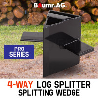 Baumr-AG 4-Way Slip On Log Splitter Wedge 7T 8T Hydraulic Wood Cutter Axe