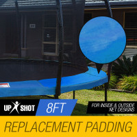 Blue 8ft Replacement Trampoline Pad