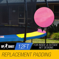 Multi-Colour 12ft Replacement Trampoline Pad