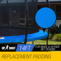 Blue 14ft Replacement Trampoline Padding