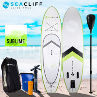 Green/White Inflatable Kayak Stand Up Paddle Board - ECX300