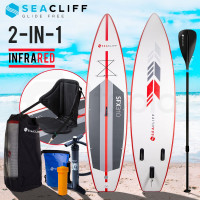 Red/White Inflatable Kayak Stand Up Paddle Board - SFX310