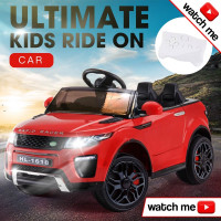 Rovo Kids Red  Kids Electric Ride-on Car - Evoque Inspired
