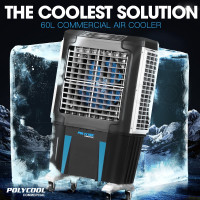 4 in1 Portable Evaporative Air Cooler Industrial Commercial Fan - CV800