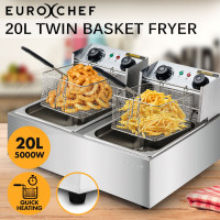 20L 5000W Electric Deep Fryer