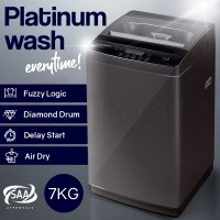Dark Grey 7kg Top Load Washing Machine