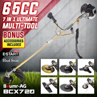 Baumr-AG 65CC Brushcutter Whipper Snipper Trimmer Brush Cutter Multi Pole Tool