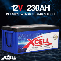 X-CELL AGM Deep Cycle Battery 12V 230Ah Portable Sealed Ultimate Series - ZLS230