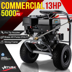 Jet-USA 5000PSI Petrol Powered High Pressure Washer- TX870 Gen IV
