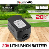 Baumr-AG  20V  Lithium Ion Battery Replacement- E Force 200