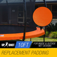 Orange 10ft Replacement Trampoline Pads