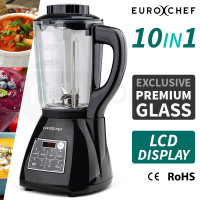 10-in-1 Black 1180W Electric Soup Maker / Blender - E1800R