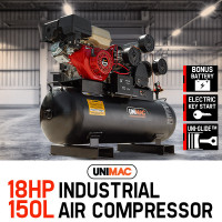 Unimac 150L 18HP Industrial Air Compressor