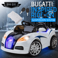 Bugatti Veyron Inspired Kids Ride-On Car