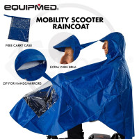 Raincoat Mobility Scooter Cover