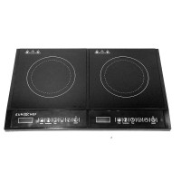 Double Cook Top Glass top