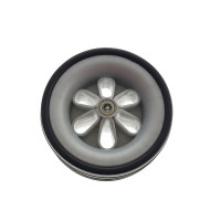 Golf Buggy White Front Wheel