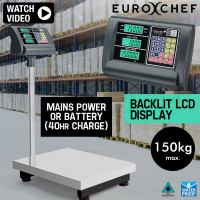 Electronic Digital Platform Scale Shop Market Postal Scales Weight 150kg