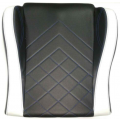 Gaming Chair Seat Base - Black/White