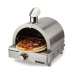 Silver Portable Gas Pizza Oven
