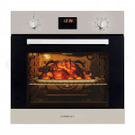 60cm Stainless Fan Forced Electric Wall Oven 8 Function Grill Touch Control - PRE-ORDER - Shipping from 25/07