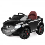 Rovo Kids Black Mercedes GLC 55 Inspired 12V Electric Kids Ride On Cars