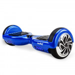 BULLET Hoverboard Scooter Self-Balancing Electric Hover Board Blue Skateboard