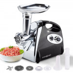 Black 2800W Electric Meat Grinder - MG500