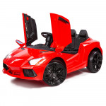 ROVO KIDS Ride-On Car LAMBORGHINI Inspired - Electric Toy Battery Remote Red