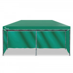 Red Track 3x6m Folding Gazebo Shade Outdoor GREEN Foldable Marquee Pop-Up