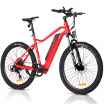 "Red 29"" 36V Lithium Battery Electric Bike MX9"