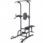 Power Tower Pull Up Weight Bench Dip Multi Station Chin Up Home Gym Equipment